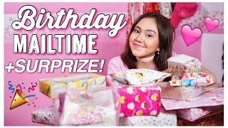 Video Birthday SURPRIZE! + Unboxing Birthday MailTime! - Peachy Liv MP3, 3GP, MP4, WEBM, AVI, FLV November 2018