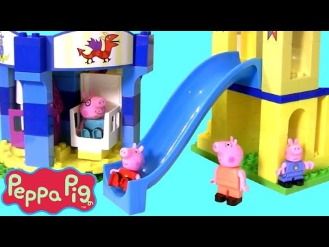 Video Mega Parque de Diversões da Peppa Pig Blocks Brinquedos Blocos tipo Lego Duplo Porquinha Peppa BR download in MP3, 3GP, MP4, WEBM, AVI, FLV January 2017