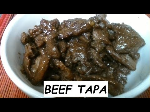 How To Make BEEF Tapa | Beef Tapa Recipe - Philippine Food