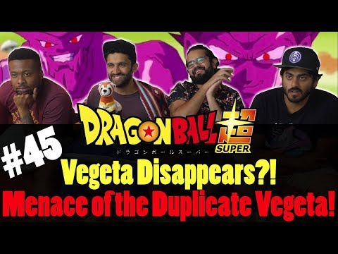 Dragon Ball Super ENGLISH DUB - Episode 45 - Group Reaction