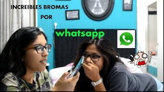 ¡¡INCREIBLES BROMAS POR WHATSAPP!! ✔✔