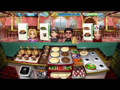 Cooking Fever – Indian Diner Level 40 (3 Stars)
