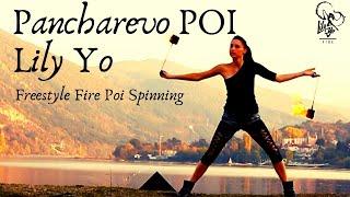 Lily Yo Fire Poi Freestyle - Pancharevo Lake