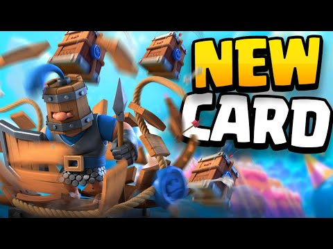 Clash Royale's Birthday ARENA ON WHEELS + ROYAL DELIVERY Card Gameplay! Season 9 Update full review!