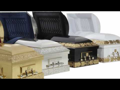 casket - The Golden Casket Company creates a beautiful line of luxury burial caskets, entirely handcrafted in pure 24 Karat gold, for the funeral industry. All exquis...