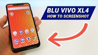 BLU Vivo XL4 - How to Take a Screenshot