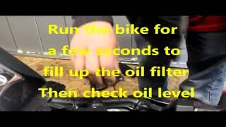 10. Yamaha Raider Oil Change