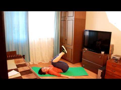 Упражнения против целлюлита на коленях видео