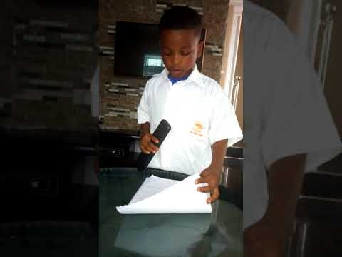 5 Year Old Boy Imitiate IGP Transmission Video (Watch This Funny Video)