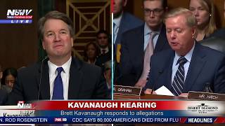 'ARE YOU A GANG RAPIST?': Sen. Lindsey Graham goes off during #Kavanaugh hearing (FNN)