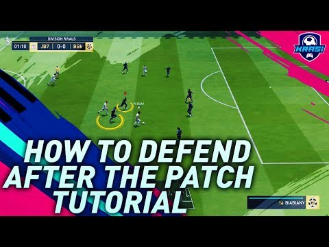 FIFA 19 AFTER PATCH AI DEFENDING TUTORIAL! THE SECRET OF DEFENDING In DIVISION RIVALS  & FUT CHAMPS