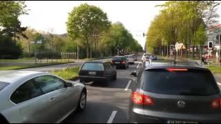 Buszozás (Nürnberg - Aachen)