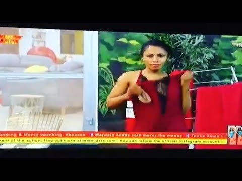 BBNaija Mercy shows her Nip to Mike