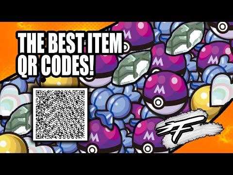 Pokemon Item qr Codes Best Item qr Codes