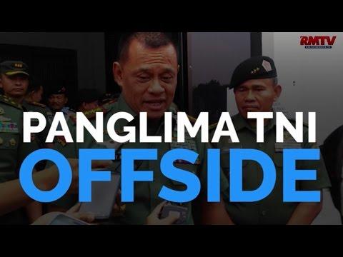 Panglima TNI Offside