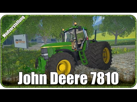 John Deere 7810 Washable v3.0 with FH