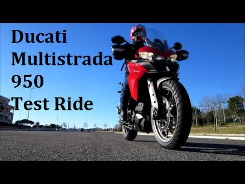 Ducati Multistrada 950 - Test Ride Ducati Roma
