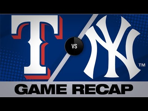 Video: Minor, DeShields lead Rangers to shutout win | Rangers-Yankees Game Highlights 9/2/19