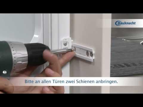 Bauknecht - Kühlschrank einbauen mit Schlepptürmontage   Erhältlich bei moebelplus