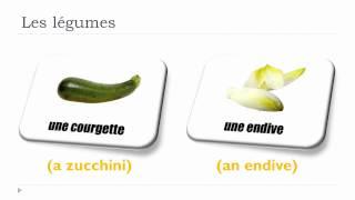 Vocabulaire Anglais - Unité 20 - Les Légumes