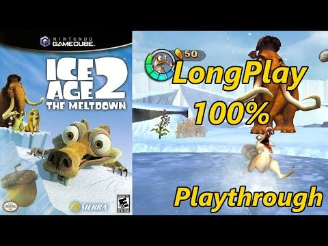 Ice Age 2: The Meltdown - Longplay 100% Full Game Walkthrough (No Commentary)