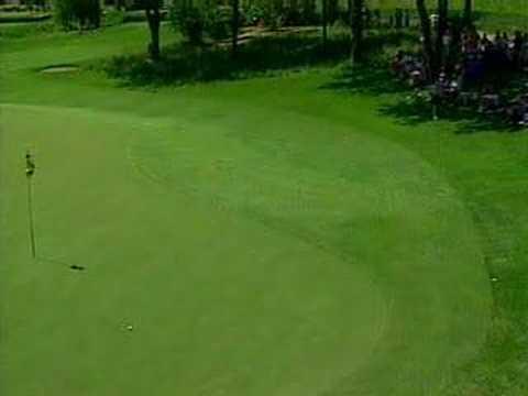 「[神業]プロゴルファーのファジー・ゼラーのミラクルバックスピンショット」のイメージ