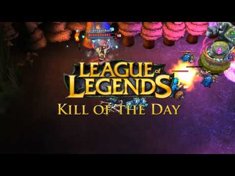 preview-League of Legends: Kill of the Day \'Rocket Arrow\' (GameZoneOnline)