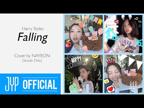 """""""Falling (Harry Styles)"""" Cover by NAYEON - Vocals Only"""