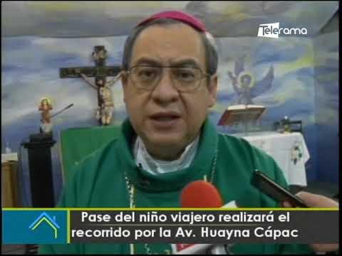 Pase del Niño Viajero realizará el recorrido por la av. Huayna Capac