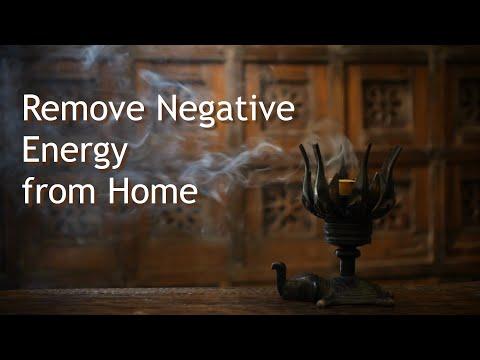 Muziek om negatieve energie uit huis te verwijderen