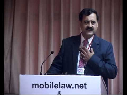 Pavan Duggal inaugural speech at ICML 2012