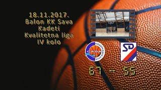 kk sava kk slodes 67 55 (kadeti, 18 11 2017 ) košarkaški klub sava