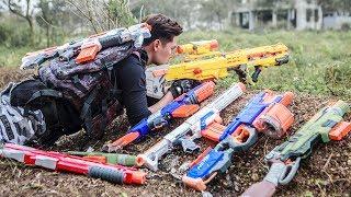 LTT Game Nerf War : Winter Warriors SEAL X Nerf Guns Fight Criminal group Rocket Assassination 2
