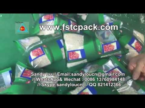 1kg Rice Automatic Packaging Machine  Rice Packing Machine