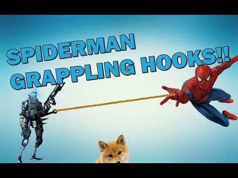 Titanfall 2 SPIDERMAN GRAPPLING HOOK!!