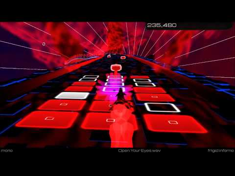 Sines Of Life - Open Your Eyes - Audiosurf 2