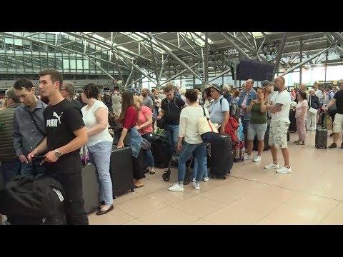 SICHERUNG DURCHGEBRANNT: Hamburger Flughafen stellt Bet ...