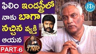 Video Tammareddy Bharadwaja Exclusive Interview Part #6 || Frankly With TNR MP3, 3GP, MP4, WEBM, AVI, FLV April 2018