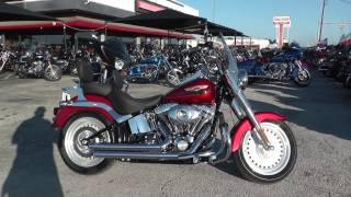 10. 061192 - 2008 Harley Davidson Softail Fat Boy   FLSTF - Used motorcycles for sale