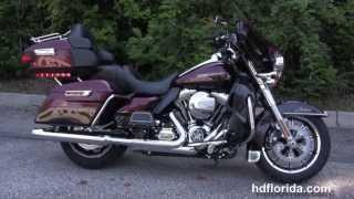 8. 2014 Harley Davidson FLHTK Electra Glide Ultra Limited Water Cooled Engine - New Model Color
