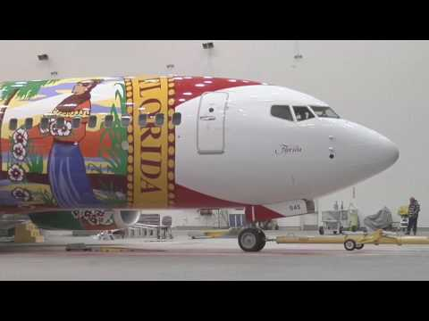 southwest - Go inside Boeing as the newest Specialty Plane is unveiled!