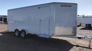 10. Nothing But Quality in this all aluminum 7x18 Aluma Cargo Trailer! $10477