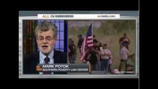 Mark Potok Discusses Patriot Movement Presence At Nevada Standoff