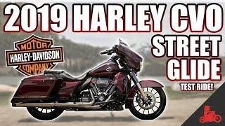 1. 2019 Harley-Davidson CVO Street Glide 117 TEST RIDE!