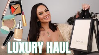 Trying On My New Makeup! Chanel, Gucci, Armani & More \\ Chloe Morello by Chloe Morello