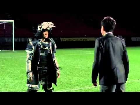 Shinji Kagawa beer advert  Watch Manchester United midfielder take on samurais in commercial   Mirro