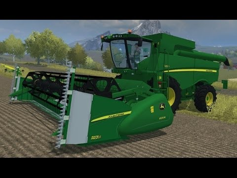 Farming Simulator 2013 Mods -  Combine Harvester