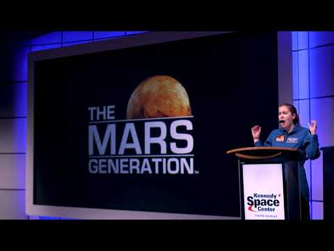 Astronaut Abby Kennedy Space Center Appearance  | The Mars Generation