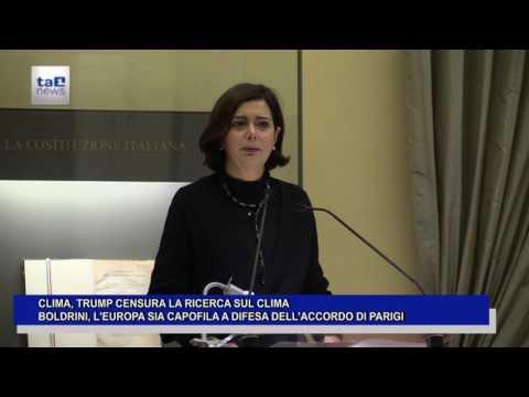 CLIMA, TRUMP: CENSURA LA RICERCA SUL CLIMA
