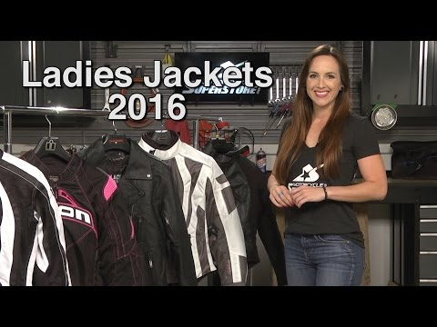 Favorite Ladies Motorcycle Jackets for Spring and Summer 2016  |  Motorcycle Superstore